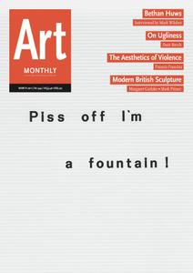 Art Monthly - March 2011   No 344