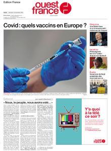 Ouest-France Édition France – 16 décembre 2020