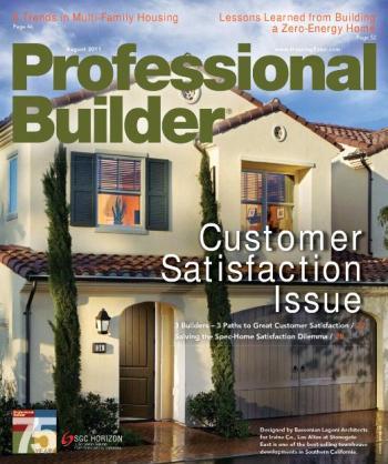 Professional Builder - August 2011