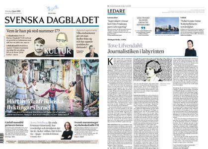 Svenska Dagbladet – 03 juni 2018