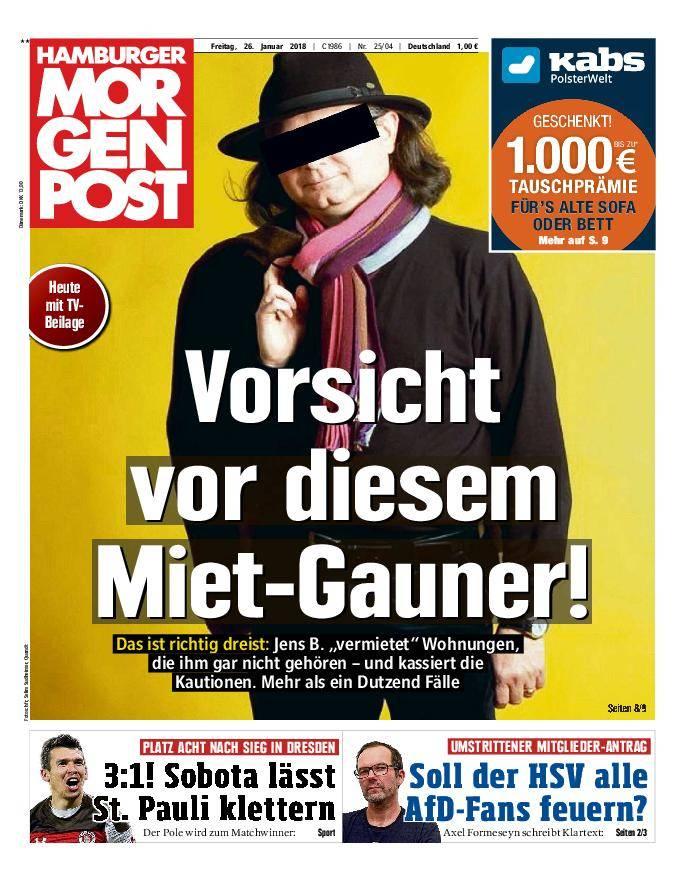 Hamburger Morgenpost - 26. Januar 2018