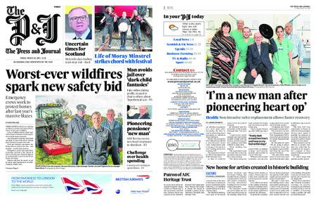 The Press and Journal Moray – March 29, 2019