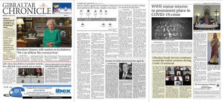 Gibraltar Chronicle – 06 April 2020