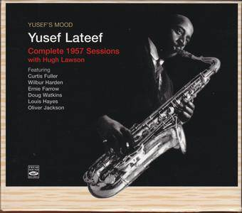 Yusef Lateef - Yusef's Mood: Complete 1957 Sessions with Hugh Lawson (1957-58) {4CD Fresh Sound 24bit Remastered rel 2008}