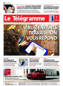 Le Télégramme Auray – 14 mars 2020