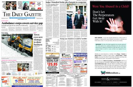 The Daily Gazette – February 14, 2019