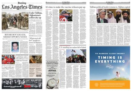 Los Angeles Times – August 22, 2021