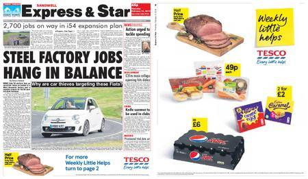 Express and Star Sandwell Edition – February 15, 2018