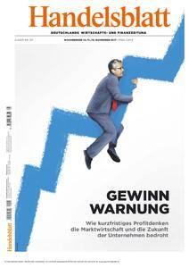 Handelsblatt - 10. November 2017
