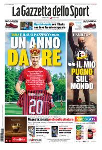 La Gazzetta dello Sport Roma – 17 novembre 2020