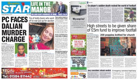 Shropshire Star Shrewsbury Edition – November 08, 2019