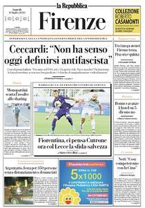 la Repubblica Firenze - 13 Luglio 2020
