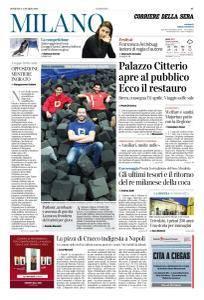 Corriere della Sera Milano - 11 Marzo 2018