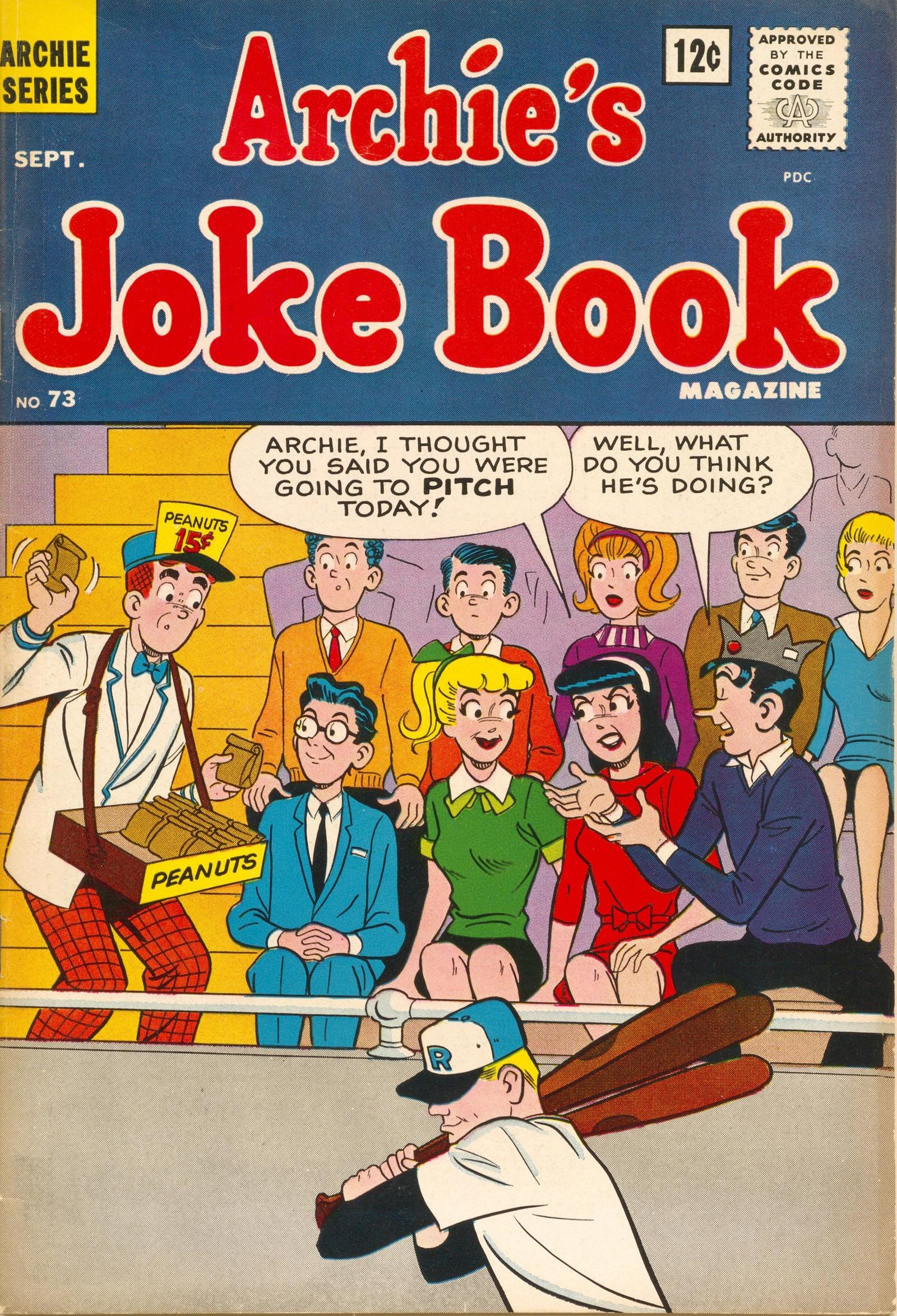 Archies Joke Book Magazine 073 1963