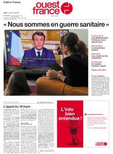 Ouest-France Édition France – 17 mars 2020