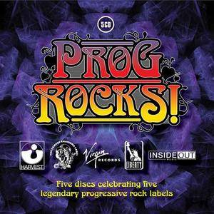 V.A. - Prog Rocks! Five Discs Celebrating Five Legendary Prog Rock Labels [5CD Box Set] (2013)