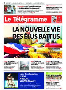 Le Télégramme Brest Abers Iroise – 13 août 2020