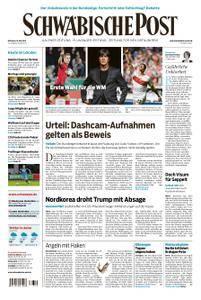 Schwäbische Post - 16. Mai 2018