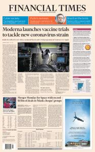Financial Times Middle East - January 26, 2021