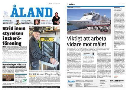 Ålandstidningen – 25 april 2018