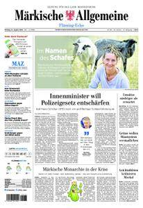 Märkische Allgemeine Fläming Echo - 13. August 2018