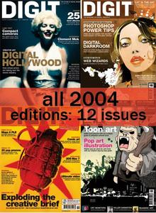 All Year of 2004 issues of Digit Magazine!