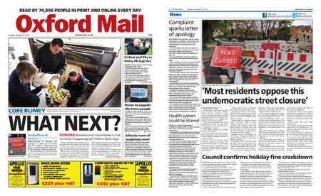 Oxford Mail – October 22, 2019