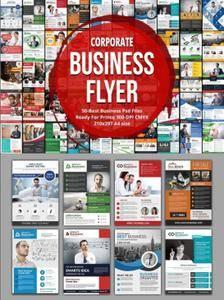 CreativeMarket - 50 Business Flyers Bundle