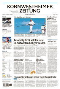 Kornwestheimer Zeitung - 17. September 2018