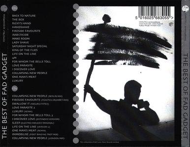 Fad Gadget - The Best of Fad Gadget (2001) 2CD [Re-Up]