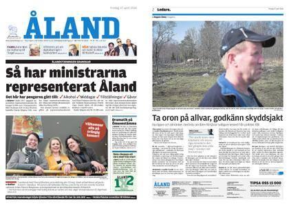 Ålandstidningen – 27 april 2018