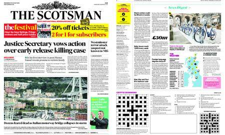 The Scotsman – August 15, 2018