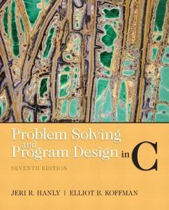 Problem Solving and Program Design in C (Repost)