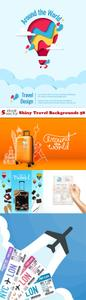 Vectors - Shiny Travel Backgrounds 58