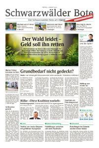 Schwarzwälder Bote Hechingen - 02. August 2019