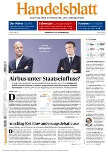 Handelsblatt - 02. November 2017