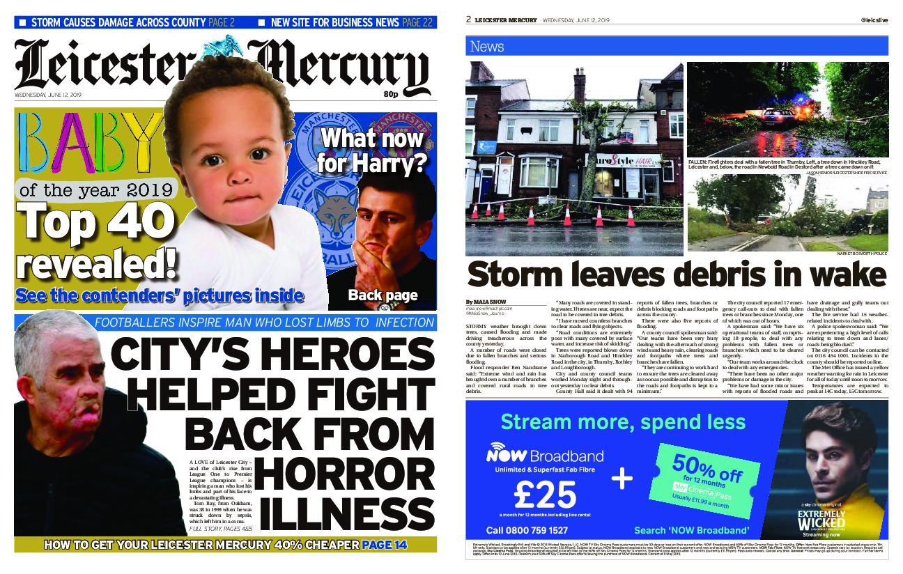 Leicester Mercury – June 12, 2019
