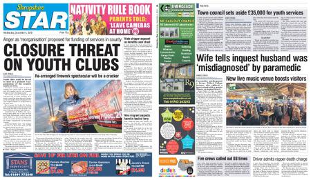 Shropshire Star Shrewsbury Edition – December 04, 2019