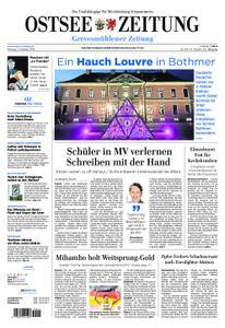 Ostsee Zeitung Grevesmühlener Zeitung - 07. Oktober 2019