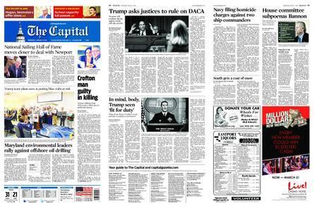 The Capital – January 17, 2018