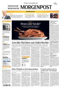 Solinger Morgenpost – 15. November 2019