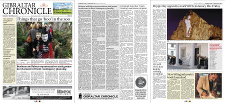 Gibraltar Chronicle – 05 November 2018
