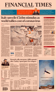 Financial Times Europe – 2 March 2020