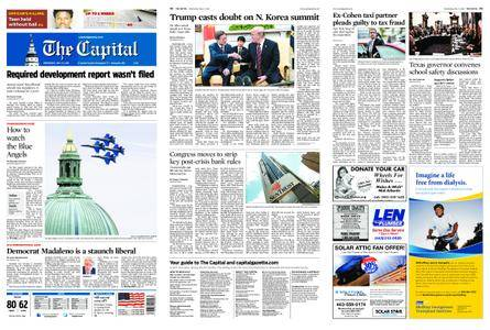The Capital – May 23, 2018