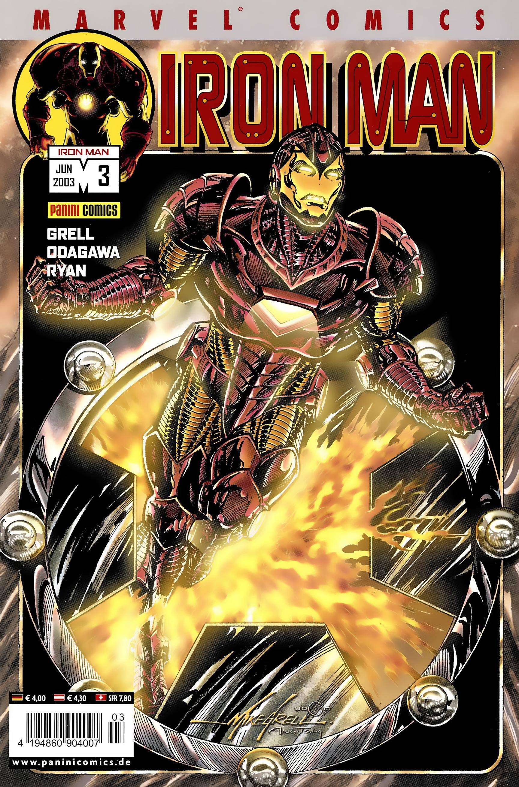 Iron Man Vol 3 03 Panini 12 06 2003