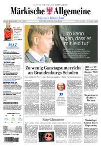 Märkische Allgemeine Zossener Rundschau - 18. Oktober 2017