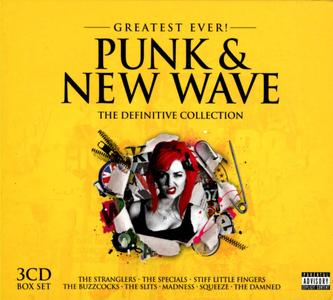 VA - Greatest Ever! Punk & New Wave: The Definitive Collection (2013)