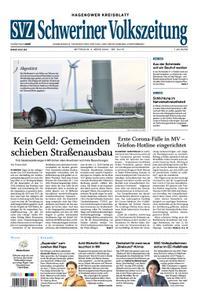 Schweriner Volkszeitung Hagenower Kreisblatt - 04. März 2020