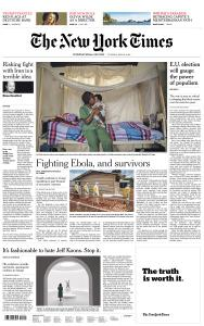 International New York Times - 21 May 2019