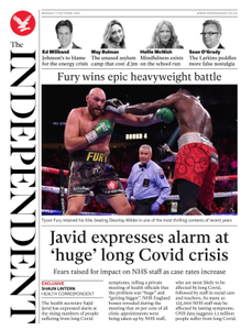 The Independent -11 October 2021